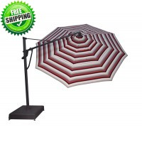 Treasure Garden  11' AKZ PLUS Cantilever Umbrella -