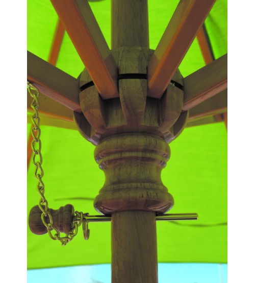 Galtech 9 Foot Wood Single Pole Frame Only Patio Umbrella Store