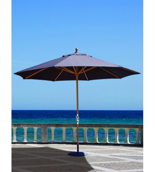 Lovely Galtech 587   11 FT Teak Market Umbrella ...