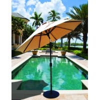 Galtech 7.5' Deluxe Auto Tilt Patio Umbrella