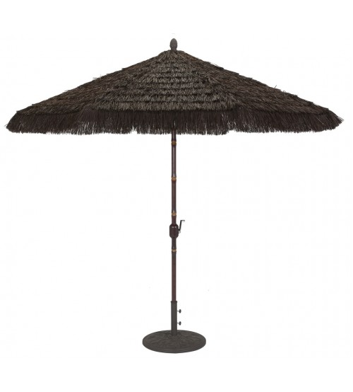 ... Galtech 9u0027 Thatch Replacement Umbrella Canopy ...  sc 1 st  Patio Umbrella Store & Replacement Umbrella Canopy Covers - Galtech 9u0027 Thatch | Patio ...
