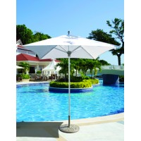 Galtech 6x6' Square Commercial Patio Umbrella