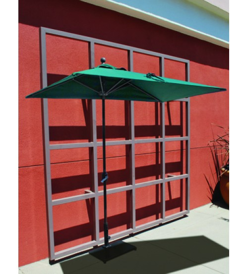 Half Wall Commercial Patio Umbrella Perfect Umbrella