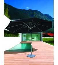 Galtech 8x11' Oval Auto Tilt  Umbrella - Frame Only