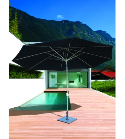 Best Selection Tilt Patio Umbrellas Large Galtech 8x11 Oval Auto Umbrella