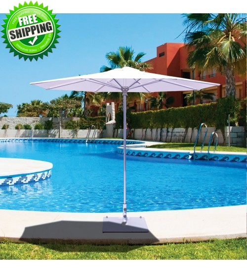 Galtech 732 - 9 FT Commercial Patio Umbrella Frame Only