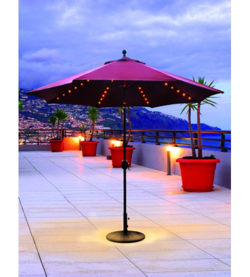 ... Treasure Garden 11u0027 Replacement Umbrella Canopy With Double Wind Vent