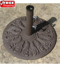 Galtech 40 LBS Cast Iron Umbrella Base