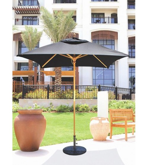 Galtech 161   6x6 FT Square Café Umbrella ...