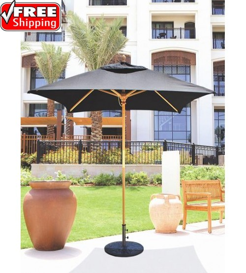 Galtech 161 - 6x6 FT Square Café Umbrella