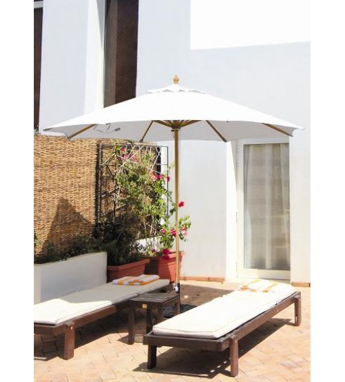 ... Galtech 183   11 FT Wood Market Umbrella