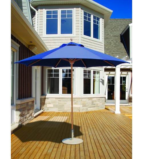 Galtech 532 - 9 FT Teak Market Umbrella