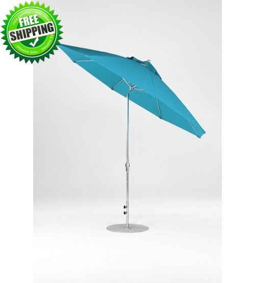 Monterey  Collection 11' Fiberglass Auto Tilt Umbrella
