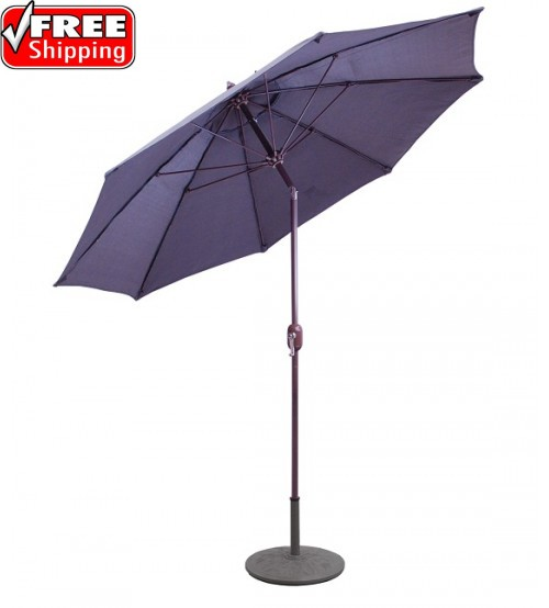Galtech 9' Manual Tilt Patio Umbrella - CLEARANCE