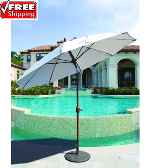 Galtech 736 - 9 FT Standard Auto Tilt Patio Umbrella