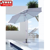 Galtech 9' Deluxe Auto Tilt Patio Umbrella
