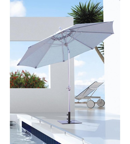 Galtech 737   9 FT Deluxe Auto Tilt Patio Umbrella