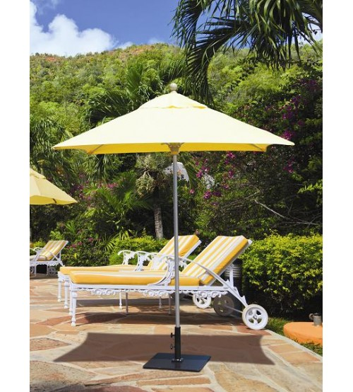 Compact Square Commercial Patio Umbrella Galtech Ft Patio