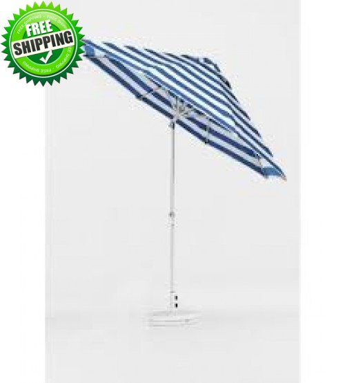 Monterey  Collection 9' Fiberglass Auto Tilt Umbrella