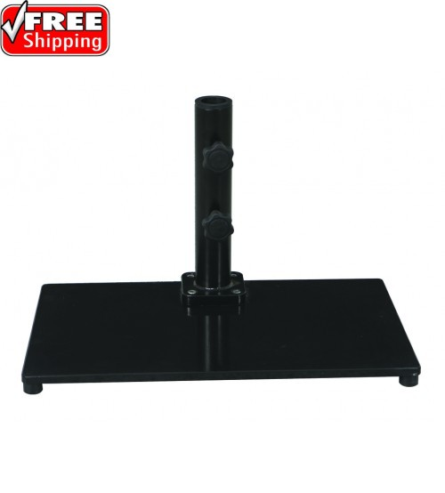 Galtech 40 LBS Half  Wall Umbrella Base