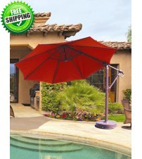 Galtech 887 - 11 FT Octagon Cantilever Umbrella  frame only