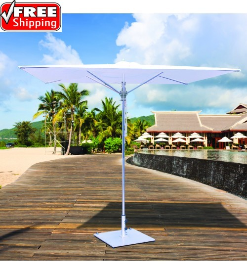 Galtech 782 - 8x8 FT Square Commercial Patio Umbrella