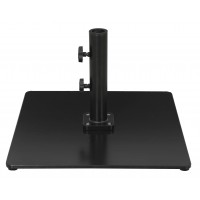 Galtech 85 LBS Square Commercial Umbrella Base