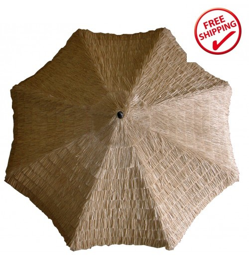 Galtech 9' Thatch Replacement Umbrella Canopy