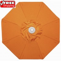 TREASURE GARDEN 9' Octagon  Replacement Umbrella Canopy - Sunbrella and OBravia