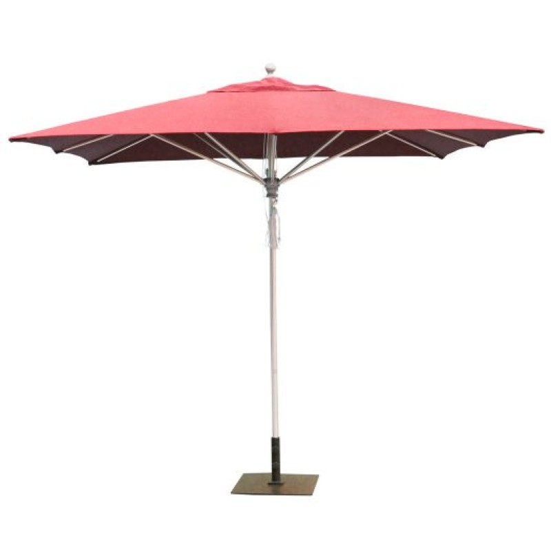 Galtech 10x10 39 square commercial patio umbrella for Balcony umbrella