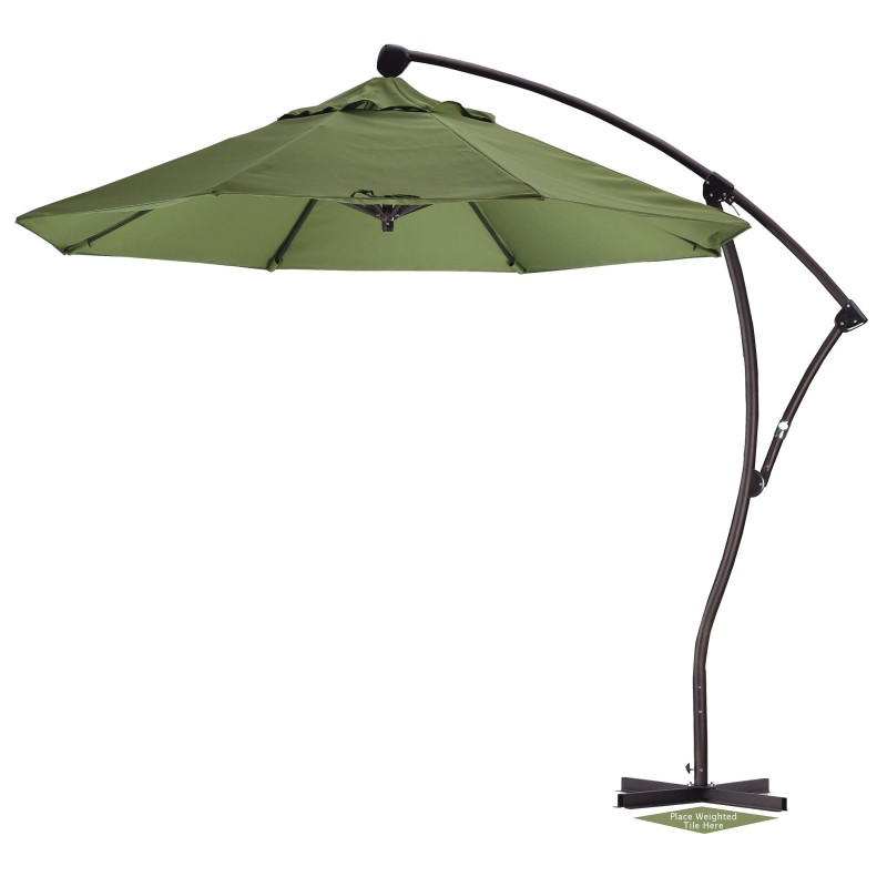 9 39 round offset patio umbrella sunbrella
