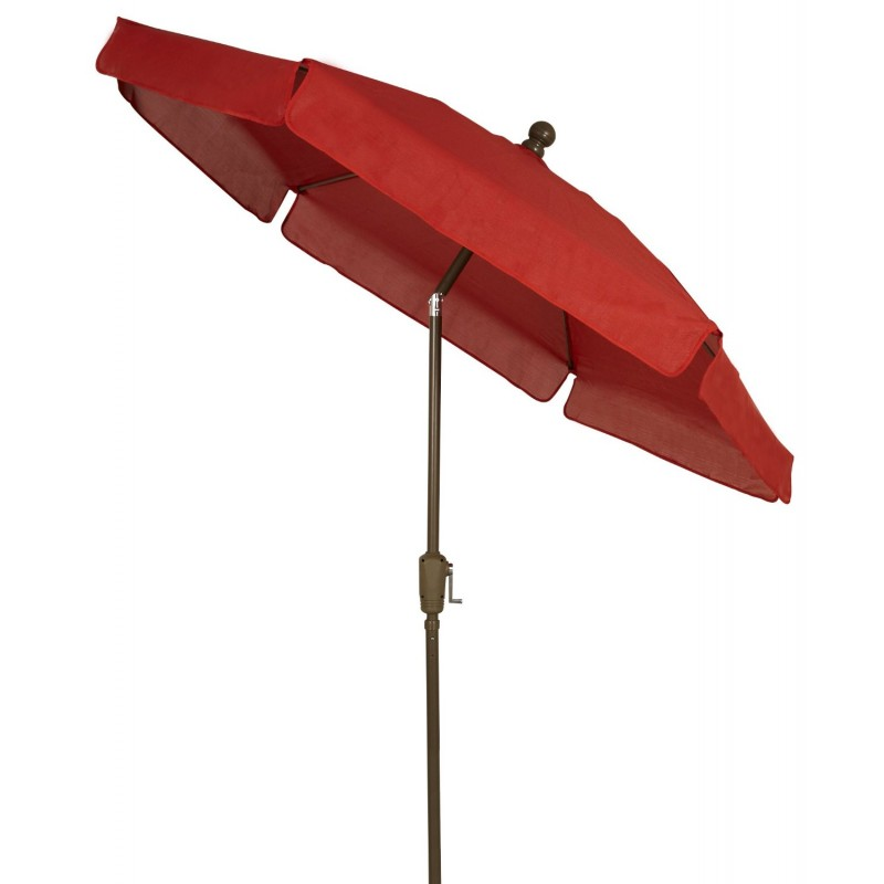 Fiberbuilt 7 5 Garden Umbrella With Crank And Tilt