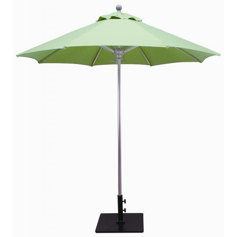 Galtech 7 5 39 commercial patio umbrella for Balcony umbrella