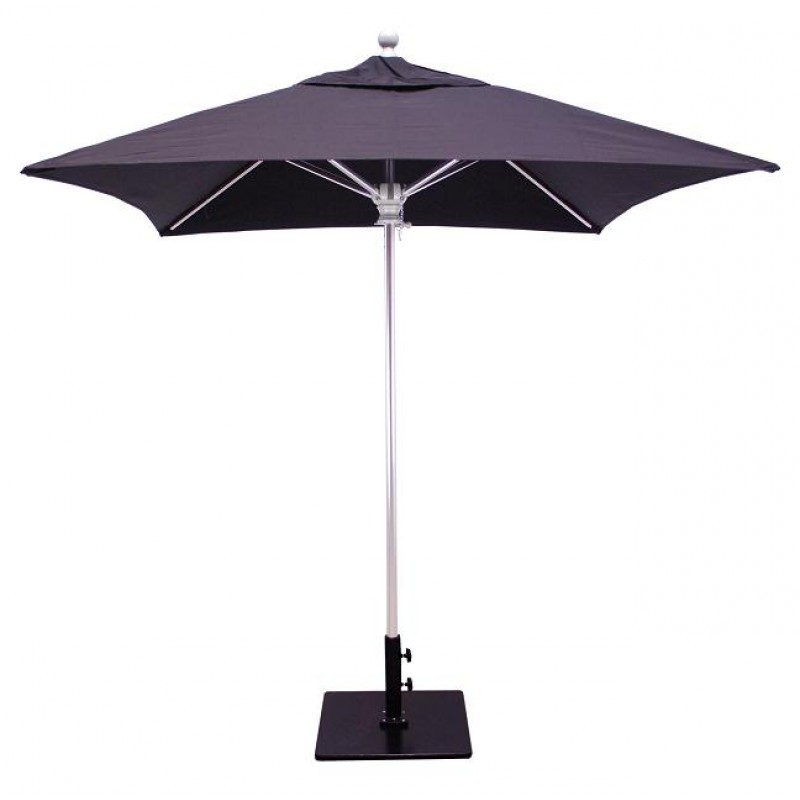 Galtech 6x6 39 square commercial patio umbrella for Balcony umbrella