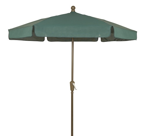 Fiberbuilt 7.5' Garden Umbrella - Push Up