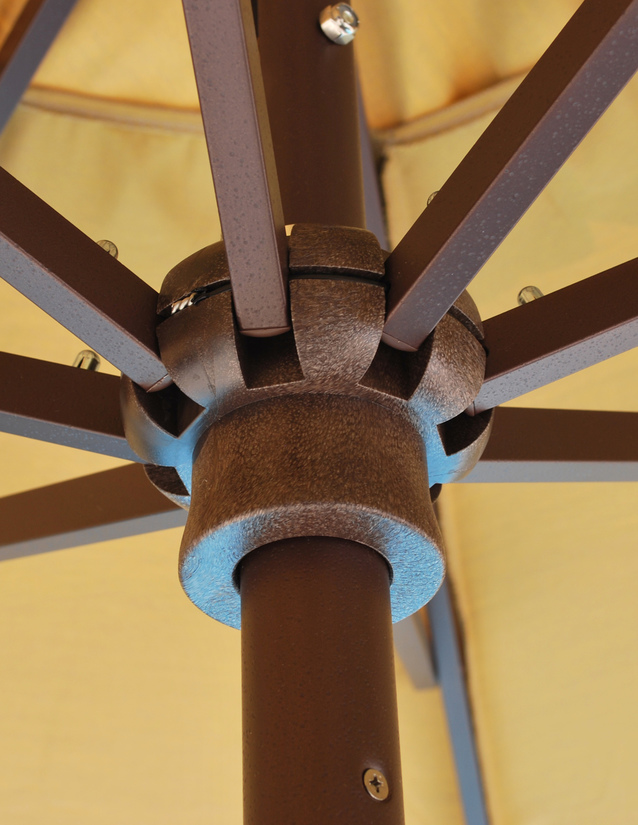 Galtech 7 5 Foot Round Rib For A Deluxe Auto Tilt Umbrella
