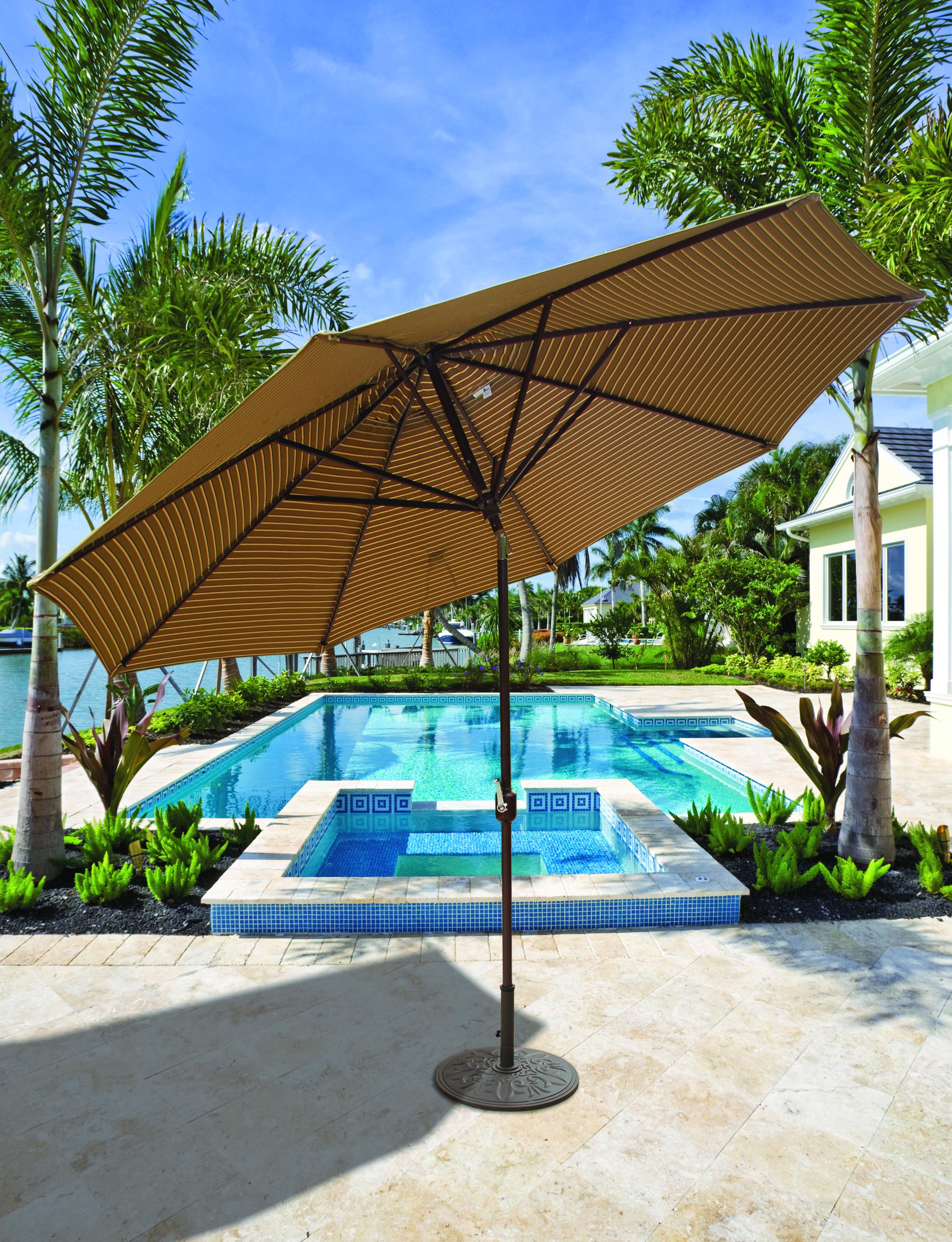 Galtech and Treasure Garden Umbrellas